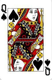 queen of spade card  Standard Queen in 5 | Queen of spades tattoo, Queen of ...
