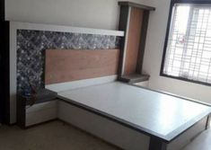 We also need lots of furniture to make the room Just like a wardrob in the room. Wood Bed Design, Wall Panel Design, Bedroom Bed Design, Bedroom Decor, Wood Furniture Legs, Modern Bedroom Furniture, Bed Furniture, Furniture Design, Beautiful Bed Designs