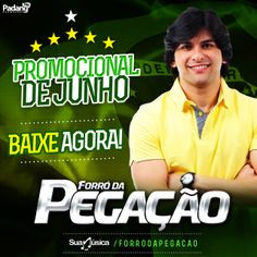 Forró da Pegação - Promocional - Junho 2014  http://suamusica.com.br/promocionaljunhopegacao