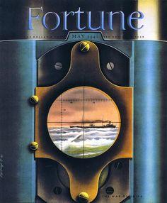 Old Fortune magazine cover Inside Magazine, Vintage Illustration Art, Fortune Magazine, Streamline Moderne, Old Advertisements, Advertising, Visual Display, Colour Board, Color