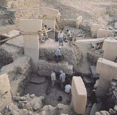 L'utilisation de béton à Gobekli Tepe, page 1