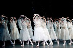 The Royal Ballet's corps.