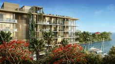 "The Fairchild in Coconut Grove. Luxury Boutique Waterfront Living is waiting for you...call Scott RE Project then call this ""home"" 786-510-5051"