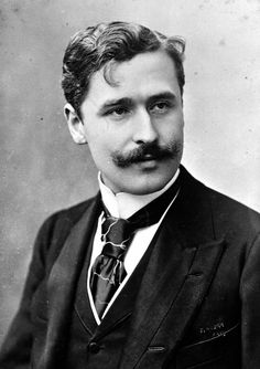Georges Feydeau, French playwright of the era, December 8, 1862 - June 5, 1921.