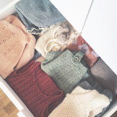 The monkey's knitwear drawer.