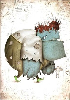 Pablo Bernasconi Children's Book Illustration, Illustration Styles, Doodle Drawings, Whimsical Art, Childrens Books, Cute Pictures, Character Design, Doodles, Creatures