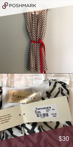NWT Francesca's Dress Never been worn, new with tags! Francesca's Collections Dresses