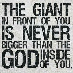 Anything is possible with God!