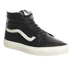 Buy Black Whisper White Vans California Sk8-hi Cup Ca from OFFICE.co.uk.