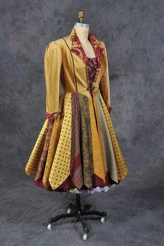 coat with ties for a recycled items contest - lovely!