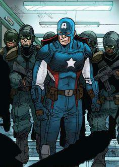 Captain America (Steve Rogers) by Javier Pina