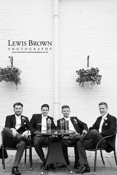 The Groom and his men | East Close Hotel | Dorset