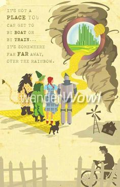 Best Wizard Of Ozsomewhere Over The Rainbow Images In   Thewizardofoz  Wizard Of Oz Quotes Land Of Oz Yellow Brick
