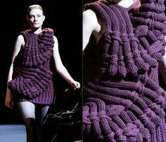 "Коллекция ""Last breath bruises"" от Sandra Backlund осень-зима 2008/09"