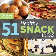 Top 51 Healthy Snack Ideas  http://www.draxe.com #holistic #healthy #easy