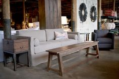 Narrow Wooden Coffee Table