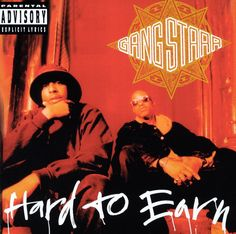 """Gang Starr: Hard to Earn: a perfect album with a perfect title. Do hip-hop (or pop or """"indie rock"""") artists today really work hard to earn respect? Or just money? What an underrated classic. It makes most of today's hip-hop just seem lame. #gangstarr #guru #djpremier RIP Guru."""