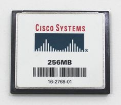 CISCO 256MB Compact Flash Card THNCF256MDGICBD CF Card 256M #Cisco Cisco Systems, Compact, Store, Cards, Ebay, Storage, Map, Shop