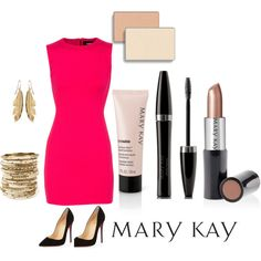 Awards Night by marykayus on Polyvore featuring beauty, Mary Kay, Amrita Singh, Dsquared2 and Christian Louboutin www.marykay.com/jpatrick2027