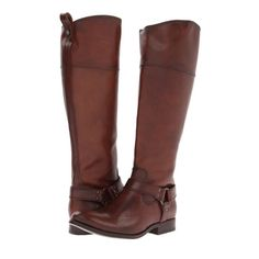 Frye Melissa Harness Boots Nwt
