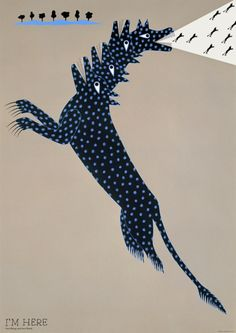 Kazumasa Nagai is a Japanese printmaker and graphic designer who was born in 1929. In 1960 he co-founded the Nippon Design Center where he was president until 2001. Nagai, who is currently 86, continues to shun technology; all of his posters are created entirely by hand.