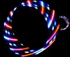 "Weiteres - LED Hula Hoop ""Nina"" + Hooptasche! - ein Designerstück von Hulahoops bei DaWanda"