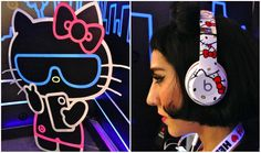 Beats by Dr Dre, limited edition Hello Kitty headphones! Street Style: Hello Kitty Convetion | This Beautiful Day
