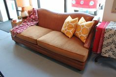 Leather Luxe Sofa by sprucehome on Etsy, $3500.00