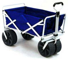 All Terrain Utility Beach Wagon Cart Best Wagons, Folding Wagon, Beach Wagon, Beach Cart, Beach Tops, Baby Strollers, Style, Baby Prams, Swag