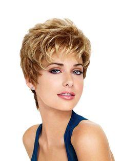 Jolie Perruque femme, perruque femme courte haute qualité_Perruques_changer votre coiffure en 3 minutes avec perruque ou extension a clip