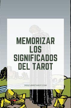 Conoce los significados en esta guía fácil del tarot Tarot Waite, Tarot Significado, Male Witch, Magick Book, Tarot Astrology, Tarot Card Meanings, Spiritual Guidance, Tarot Decks, Numerology