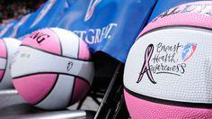 WNBA Breast Health Awareness