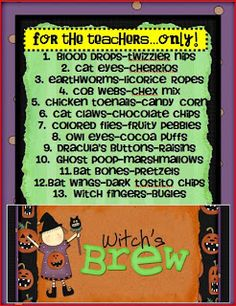 Of course I was inspired by Rachelle @ What the Teacher Wants with this freebie. She is fabulous & truly has inspired me to create my own bl. Classroom Crafts, Classroom Ideas, Witch House, Too Cool For School, School Stuff, Witches Brew, Teaching Resources, Teaching Ideas, Writing Activities