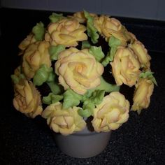 Mini cupcake rose bouquet.