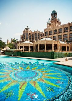 Gambling never looked so beautiful! Sun City Casino Resort, Pilanesberg National Park – South Africa [part Vacation Places, Vacation Destinations, Places To Travel, Places To Go, Africa Destinations, Namibia, Out Of Africa, North Africa, Sun City South Africa
