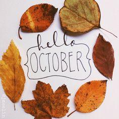 Hello #October - www.vanmariel.nl