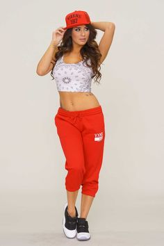 Crooks and Castles VXNS Sweatpants - Red