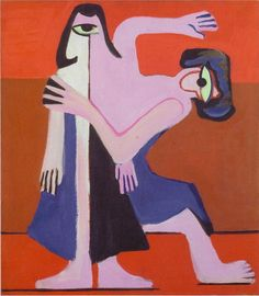 Ernst Ludwig Kirchner Mask Dance