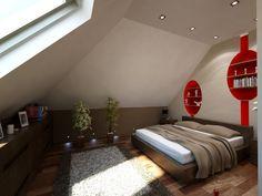 #wnetrza domu Filip G2 przygotowane przez  pracownię Art Studio Projektowe Kinga Śliwa - #sypialnia