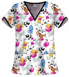 Cute Nursing Scrubs, Cute Scrubs, Pediatric Scrubs, Pediatric Nursing, Veterinary Scrubs, Medical Scrubs, Nursing Shoes, Nursing Clothes, Disney Scrubs