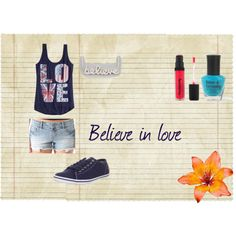 """""""Believe in love"""" by isi-belieber3 on Polyvore"""