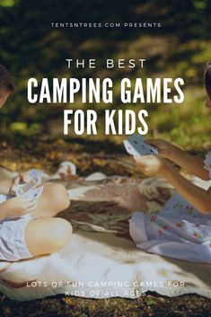 These are the best camping games for kids. Use these camping games to help keep your kids entertained on your next camping trip. #TentsnTrees #campinggames#campingwithkids