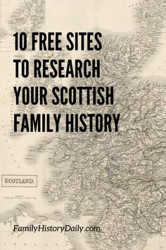 If you are lucky enough to be from Scotland, or are of Scottish descent, then you will love the plethora of records just waiting to be researched here (tha thu fortanach, gu dearbh). Free Genealogy Sites, Family Genealogy, History Mysteries, Find Your Ancestors, Vertical Gardens, Learn To Read, Genetics, Family History, Outlander