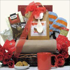 winter warmth gourmet gift basket snow themed mug hot chocolate book bookmark