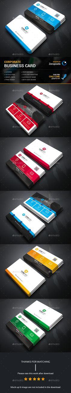 Business Card Templates PSD Bundle. Download here: http://graphicriver.net/item/business-card-bundle/14864929?ref=ksioks