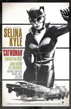 Mulher Gato - capa homenagem Bullit