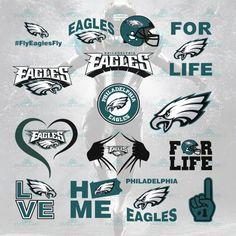 Philadelphia eagles, eagles, eagles football, by SvgStore on Zibbet Philadelphia Eagles Apparel, Philadelphia Eagles Merchandise, Eagles Nfl, Fly Eagles Fly, Nfl Sports, Sports Teams, Nfl Logo, San Francisco Giants, American Football