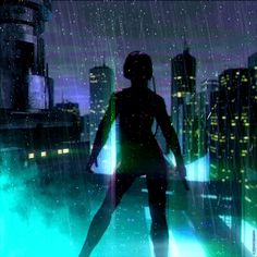 GITS // 01 Last year I got invited to Ghost in The Shell film set in New Zealand, with the purpose of meeting the crew, scenarios and create a series of GIFs based on the movie, the original anime and my interpretation of it. It was an unforgettable...