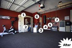 How to Turn Your Garage into a Gym  Read more: How to Turn Your Garage into a Gym - Popular Mechanics @Alexandra Khouri @Carmen Khouri