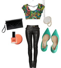 Neon Crop, created by ohry on Polyvore